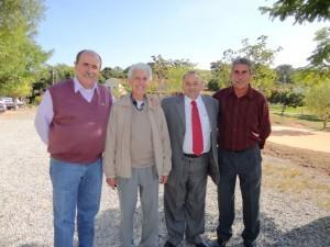 jc prefeitos e diretor da entidade1 300x225 Caramez visita Vale da Bênção em Araçariguama