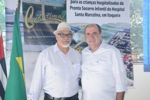 """foto1 300x199 No lançamento do livro """"Conduzimos"""", Caramez confirma apoio aos aposentados em transporte e cargas"""