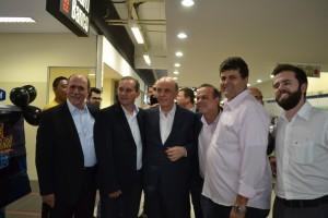 26-Caramez e Serra com vereadores e ex-prefeito de Dois Córregos, Luiz Nais
