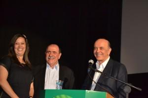 5- Adriana, filha do deputado estadual Ramalho da Construção, com Caramez e Serra