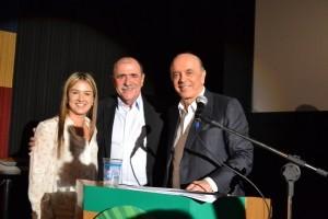1 (5)- Deputada federal Bruna Furlan, João Caramez e José Serra